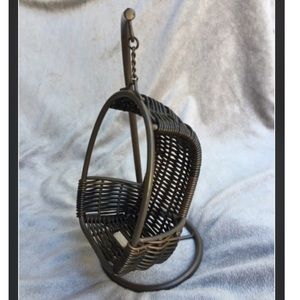 Other - Unique Boho Woven Hanging Chair🌴Phone Watch Stand